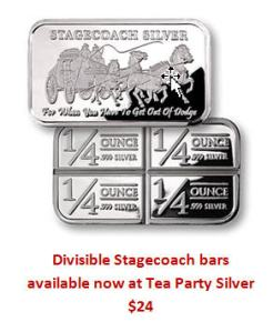 Stagecoach Bars available at Tea Party Silver